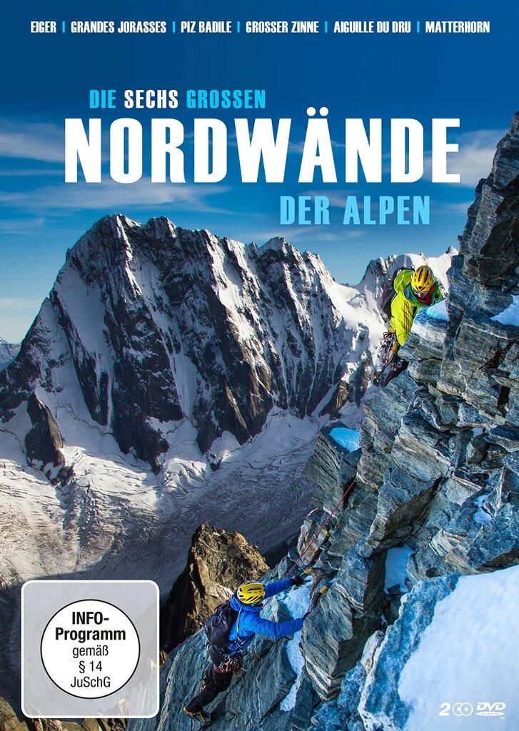 """Verlosung: """"Die sechs großen Nordwände der Alpen"""" als DVD und Blu-Ray"""