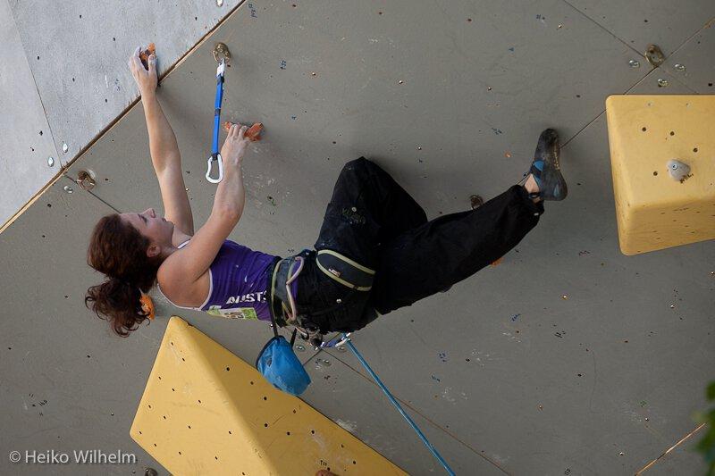 Thomas Tauporn klettert auf Platz 13 beim Leadweltcup in Briancon