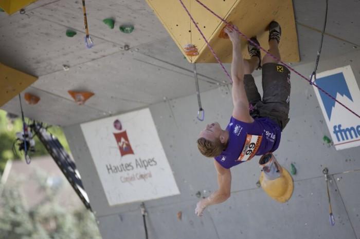 Kletterweltcup 2012: Spitzenplatzierungen für Johanna Ernst und Jakob Schubert in Briancon