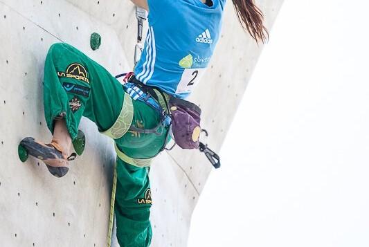 Kletterweltcup 2012 in Imst: Schubert und Ernst klettern vor Heimpublikum aufs Podest