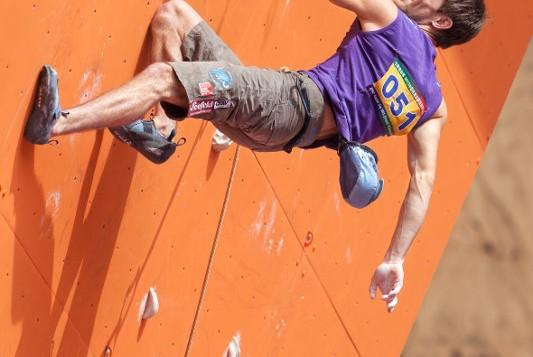 Lead Weltcup 2012: Jakob Schubert klettert in Japan auf Platz 2