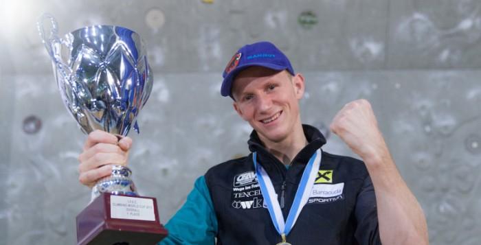 Kletterweltcup 2013: Jakob Schubert gewinnt Lead-Weltcupfinale und Gesamtweltcup