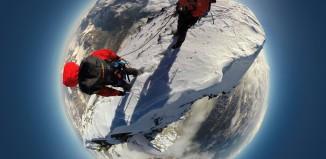 Mammut Project 360 liefert eindrucksvolle Tiefblicke vom Matterhorn