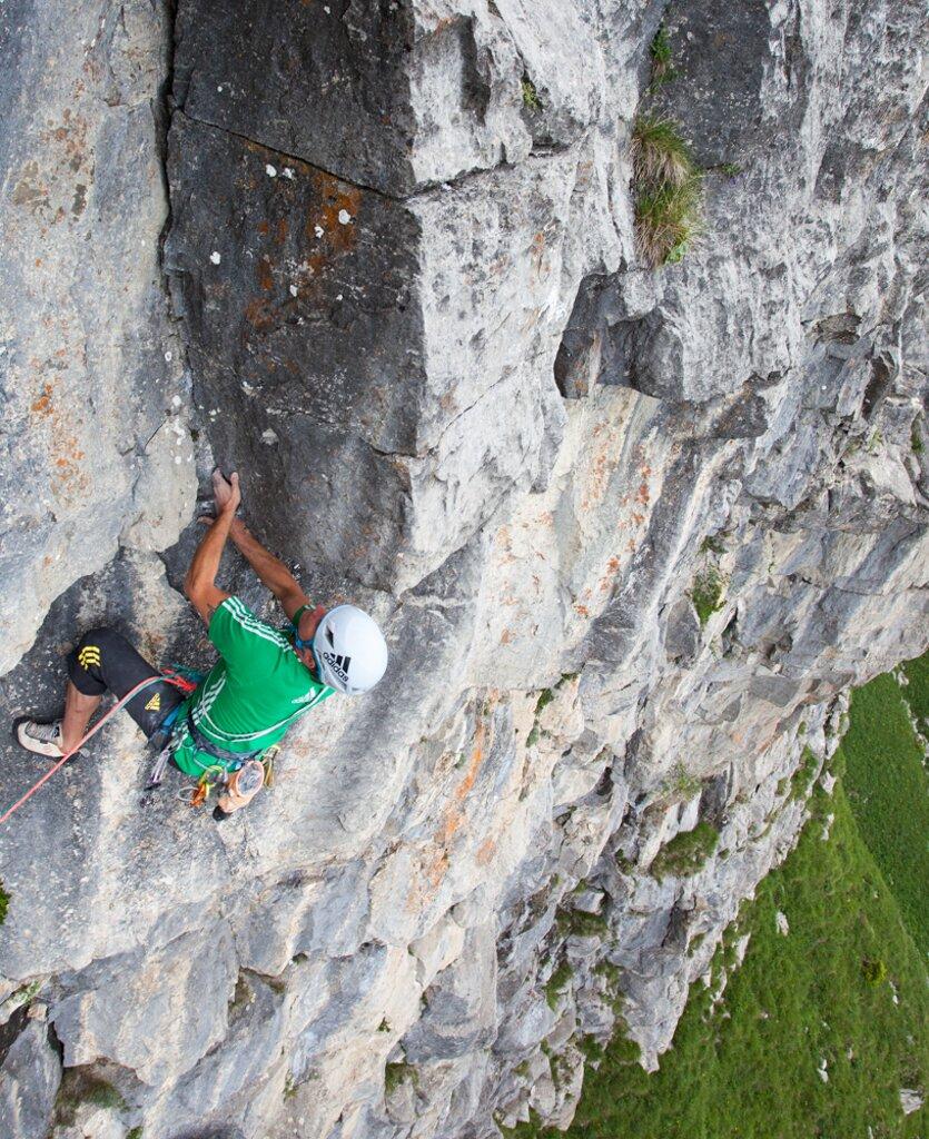 Mario Walder eröffnet zwei neue Routen in Italien - Dreamline catching