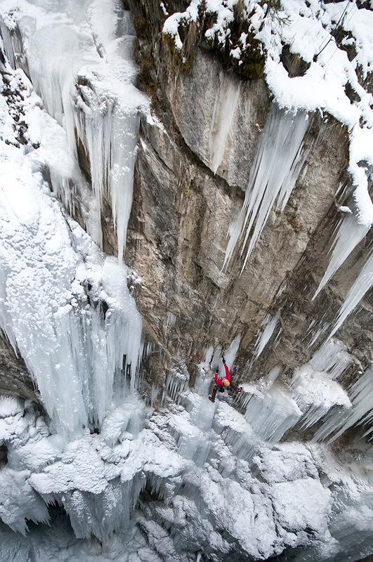 Markus Bendler siegt beim UIAA Eiskletterweltcup in Korea