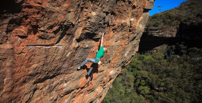 Alex Megos gelingt Begehung der ersten 9a Australiens