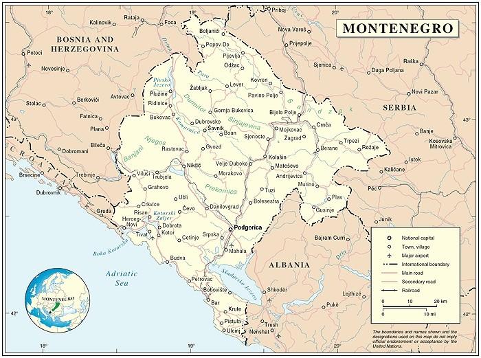 Prokletje: Klettern in Montenegro