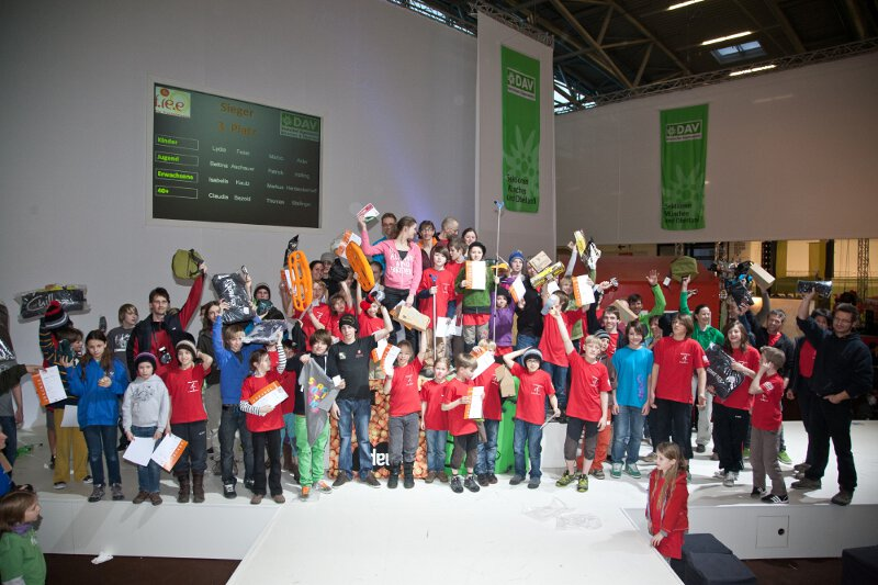 München 2012: Kletterevents der Superlative