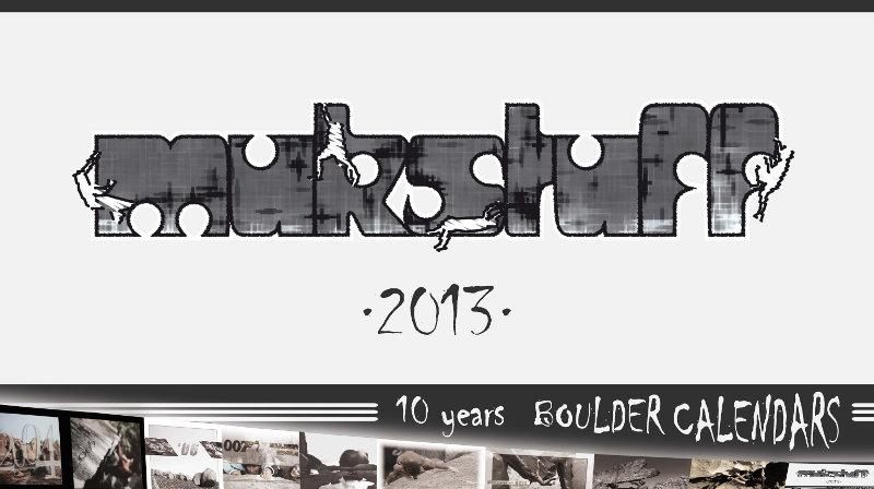 Neu im Shop: MUKstuff Boulderkalender 2013