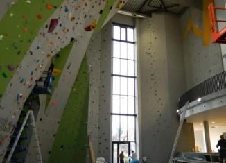Eröffnung einer neuen Kletterhalle in Neu-Ulm