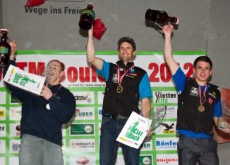 Kilian Fischhuber und Katharina Saurwein sind die Österreichischen Staatsmeister 2012 im Bouldern