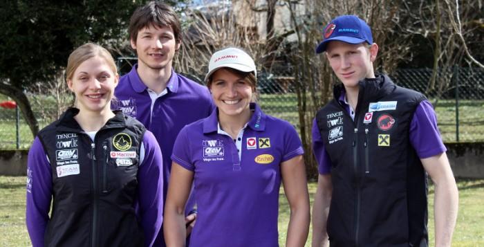 Weltcupauftakt 2013 und Heimweltcups im Visier der Österreichischen Kletterasse