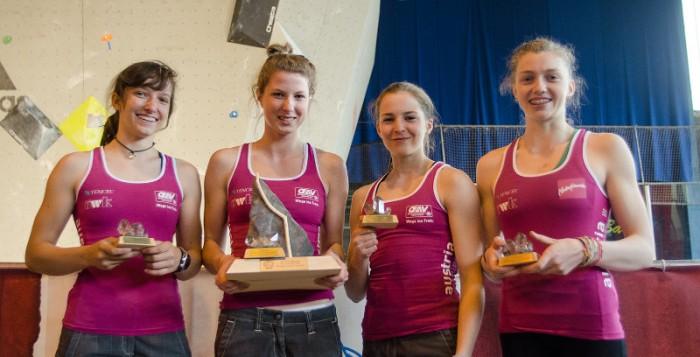Jugend- & Junioren Europameisterschaften 2013: ÖWK-Nachwuchs holt viermal Edelmetall im Bouldern