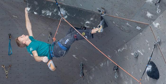 Leadweltcup 2013 in Perm: Jakob Schubert und Magdalena Röck holen jeweils Platz 2