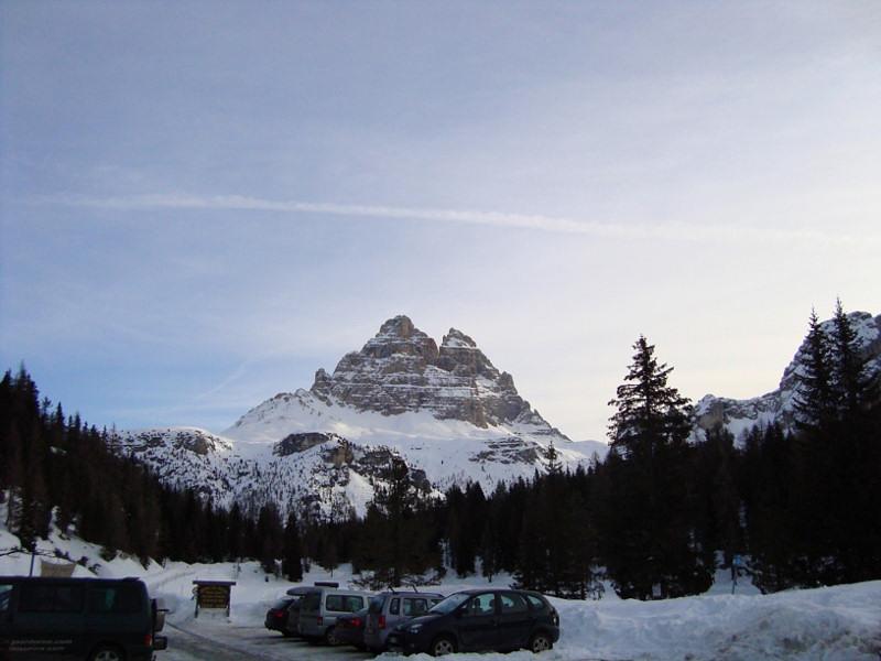 Expeditionstraining an der Großen Zinne Nordwand