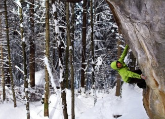 Neue Boulder in der Schweiz von Pirmin Bertle