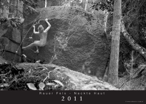 Neu im Shop: Kalender Rauer Fels - Nackte Haut 2011