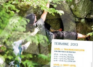 Klettern und Bouldern mit risk'n'fun 2013