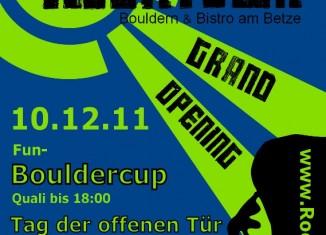 Bouldern in Kaiserslautern: Neueröffnung RockTown am Betze