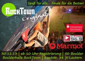 RockTown Originals 2013: Boulderwettkampf in Kaiserslautern