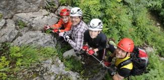 SALEWA Klettersteigtage 2013: Mehr Sicherheit im Klettersteig