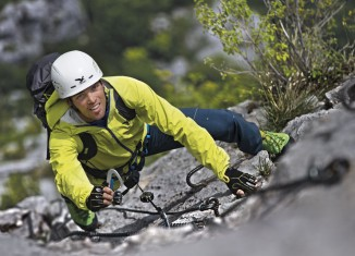 Mit der SALEWA Klettersteigtour sicher durch die Via Ferrata