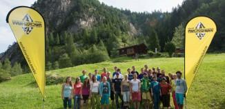 Internationales SALEWA Rockshow Camp 2014: Boulder-Tage in Magic Wood