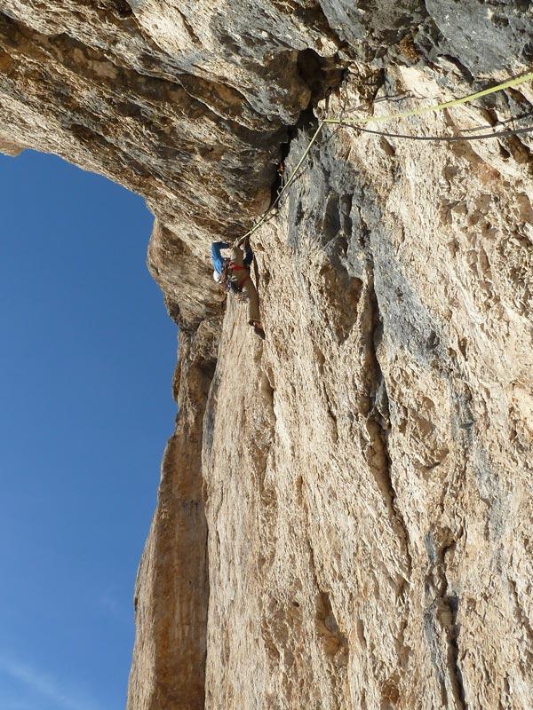 Schirata: Erstbegehung an der Piz Ciavazes Südwand