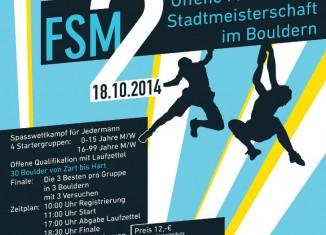 2. Offene Frankfurter Stadtmeisterschaft im Bouldern 2014