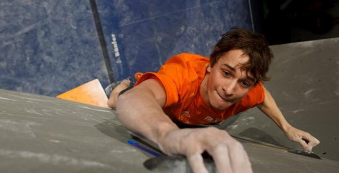 Thomas Tauporn sichert sich beim Boulderweltcup in Slowenien den 3. Platz