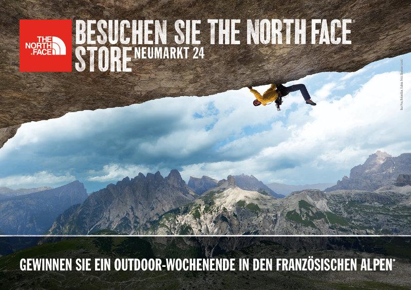 Kletterausrüstung Neumarkt : Zipper act by the north face in leipzig: gewinne eine reise die