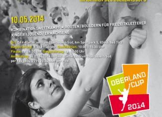 Auf zur Offenen Tölzer Stadtmeisterschaft 2014 im Sportklettern