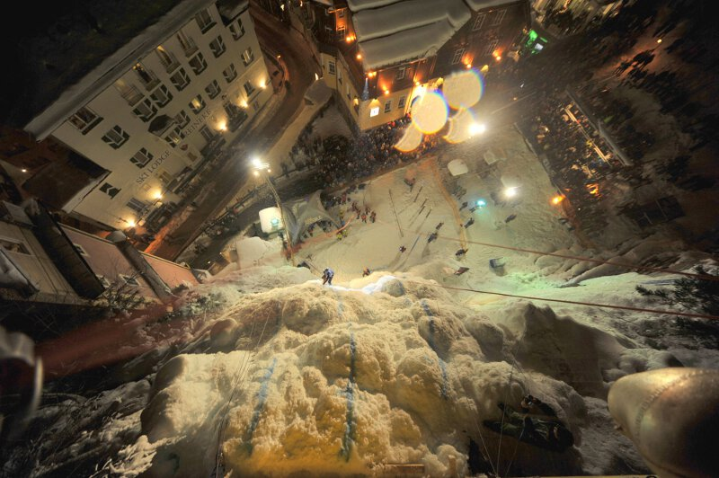 Urban Ice: Zweites Eiskletter-Event in Bad Gastein verschoben