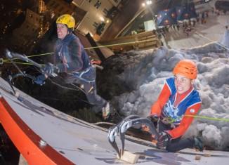 Urban Ice 2014: Dritter Eiskletter-Wettkampf in Bad Gastein