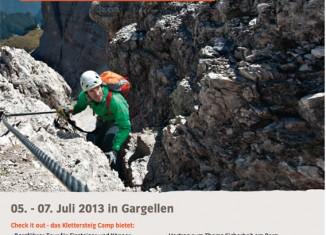 VAUDE Klettersteig Camp von 05. bis 07. Juli 2013