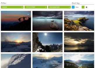 Neue Fotoplattform VAUDE Visions: Bergeweise Bilderwelten
