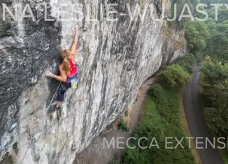 "[VIDEO] Mina Leslie-Wujastyk on ""Mecca Extension"" (8c)"