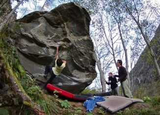 [VIDEO] Niky Ceria bouldert im Maltatal