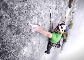 [VIDEO] Iker und Eneko Pou in Solo Per Vecchi Guerrieri (9a) - Teil 2