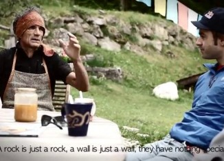 [VIDEO] Iker und Eneko Pou in Solo Per Vecchi Guerrieri (9a) - Teil 1