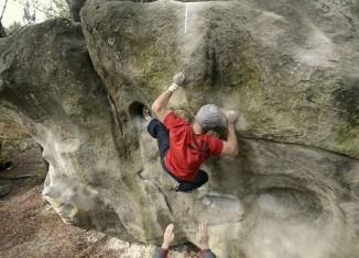 [VIDEO] Heiko Queitsch und Freunde beim Bouldern in Fontainebleau