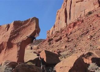 [VIDEO] Chris Schulte bouldering in Indian Creek