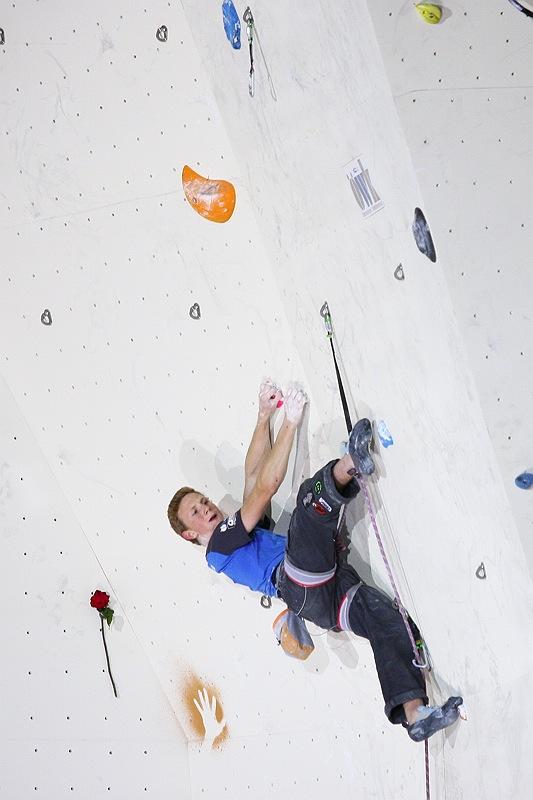 Showdown beim Weltcupfinale der Vorstiegskletterer im slowenischen Kranj