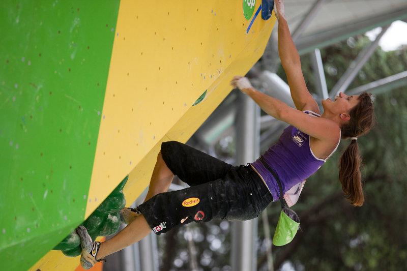 Anna Stöhr ist neue Weltmeisterin im Bouldern