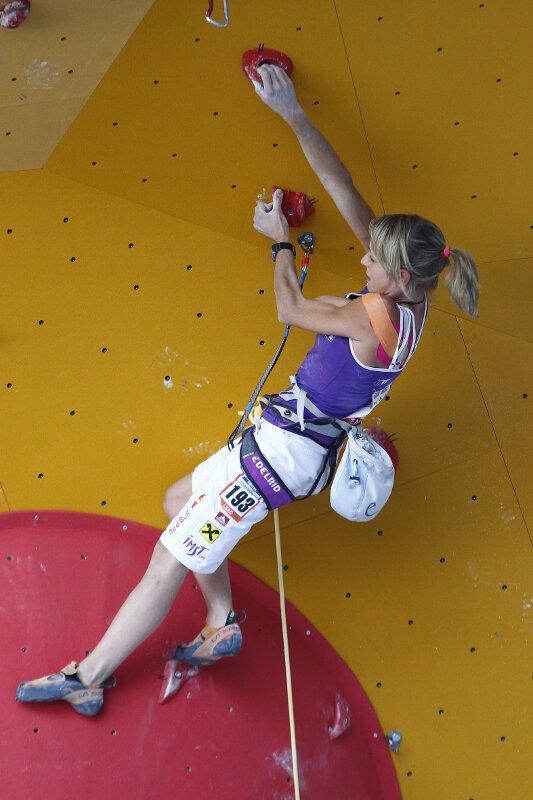 Kletter-WM 2011: ÖWK-Damen überzeugen in der Lead Qualifikation