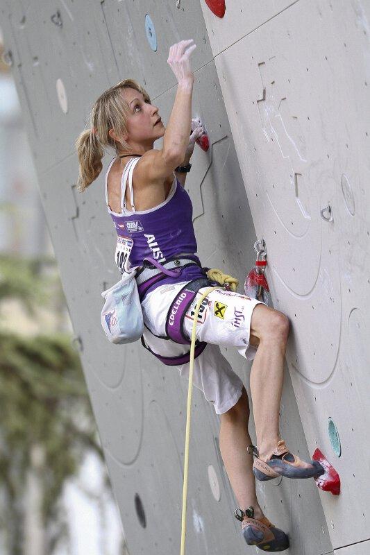 Kletter-WM 2011: Fünf ÖWK-Damen stehen im Vorstiegs-Finale
