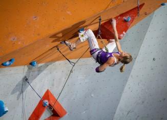 Angela Eiter mit viertem Weltmeistertitel endgültig im Kletterolymp