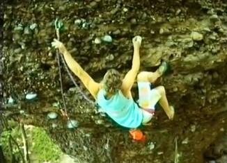 [VIDEO] Drei klassische Eifelklettereien (1990)