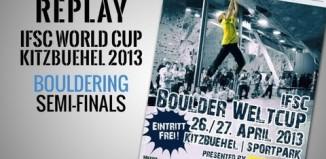 [VIDEO] IFSC Boulderweltcup 2013 in Kitzbühel: Das Halbinale