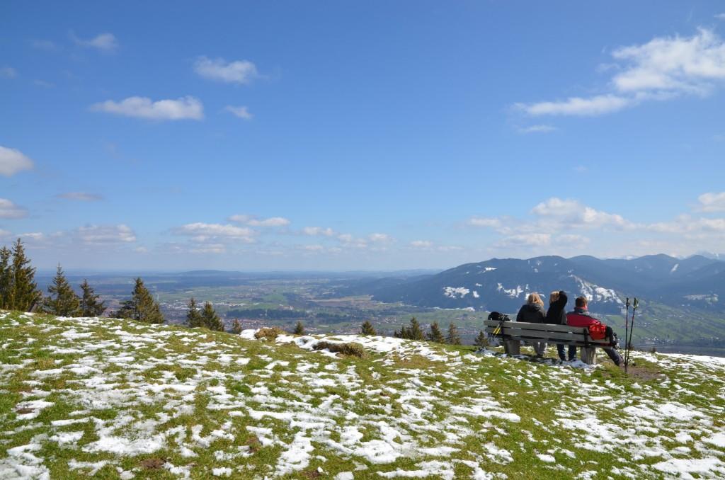Heiglkopf Blick zur Sunntraten (c) DAV-Thomas Bucher